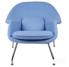 Baby blue Eero Saarinen Womb Chair | light | powder | aqua |