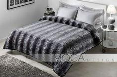 DecoArt24.pl Koc- Narzuta TAC 220x240cm Leopar black - Piękna i oryginalna narzuta hiszpańska firmy EYSA Eleganko wykonana z materiałów najwyższej jakości bardzo dobrze prezentuje się zarówno w stylowej jak i nowoczesnej sypialni Niepowtarzalne wzornictwo podkreśli charakter każdej sypialni #dom #sypialnia #łóżko #DecoArt24.pl #sophisticated