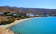 One of the most loved bays of the island! During the summer months there is a tavern and cafe - tavern above the beach. Here you will find many rooms to let,. Tinos Greece, Greece Tours, Rooms To Let, Crystal Clear Water, During The Summer, Beautiful Islands, Greek Islands, Santorini, Tuscany