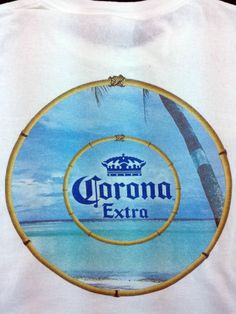 Corona Extra Beer XL White Cotton Mens T Shirt #Anvil