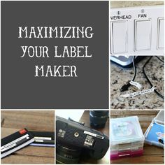label thing, maxim, label maker, around the house, blog