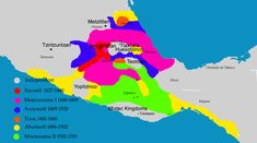 A map of the Aztec empire.