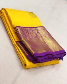 Pure Kanchipuram silk sarees at weavers price pl contact us at for more collections and details Indian Bridal Sarees, Bridal Silk Saree, Indian Silk Sarees, Ethnic Sarees, Kanjivaram Sarees Silk, Bandhani Saree, Trendy Sarees, Stylish Sarees, Kanjipuram Saree