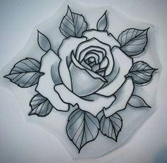 Rose drawing.