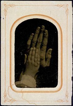 "eastmanhouse: "" Man and child's hands Unidentified ca. 1875 tintype x cm. Old Photos, Vintage Photos, Render People, Kids Hands, Cold Hands, Musical Hair, The Hanged Man, Creeped Out, Things Under A Microscope"