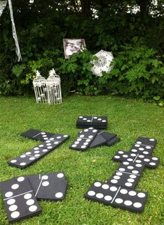 outdoor yard games for adults / outdoor yard games ; outdoor yard games for kids ; outdoor yard games for adults ; Wedding Reception Games For Guests, Wedding Yard Games, Wedding Games For Kids, Outdoor Wedding Games, Diy Outdoor Weddings, Wedding Receptions, Jenga Wedding, Wedding Backyard, Barn Weddings