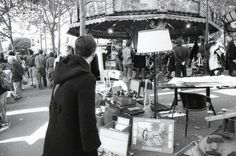 "Taking a stroll around one of Paris' flea markets, or ""puces"" is pleasant, whether you're hunting for something specific or just enjoy browsing."