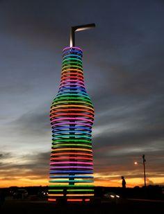 Arcadia, OK-World's Largest Soda Pop Bottle