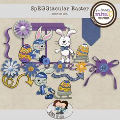 Oscraps.com :: Shop by Category :: All New :: SoMa SpEGGtacular Easter MiniO kit Easter, Scrapbook, Kit, Shop, Design, Scrapbooks, Design Comics, Store, Scrapbooking