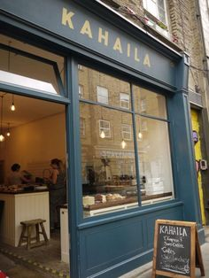 """""""KAHAILA CAFE"""",  Brick Lane, in London...miss this place, spot some friends in there ;)"""