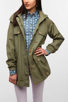 Numph Surplus Trench Coat  #UrbanOutfitters