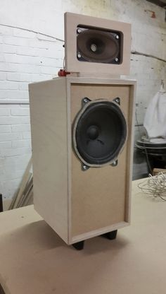 Telefunky - Allington Audio for Crafty&Co. Pimped Telefunken Klangbox WB60