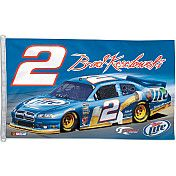 WANT! Wincraft Brad Keselowski Two Sided 3'x5' Flag - NASCAR.COM SUPERSTORE
