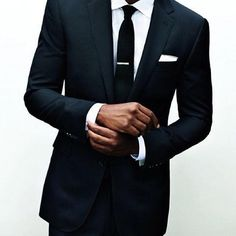 2011 GQ Men of the Year Mad Men, anyone? Black One Button Slim Fitting SuitMad Men, anyone? Black One Button Slim Fitting Suit Sharp Dressed Man, Well Dressed Men, Style Gentleman, Gentleman Mode, Modern Gentleman, Gq Men, Fashion Mode, Mens Fashion, Outfit