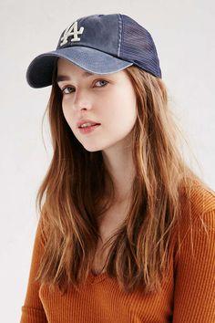American Needle MLB Raglan Mesh Baseball Hat - Urban Outfitters