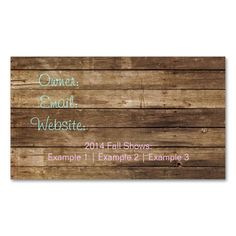 Chic and Rustic Business Card. I love this design! It is available for customization or ready to buy as is. All you need is to add your business info to this template then place the order. It will ship within 24 hours. Just click the image to make your own!