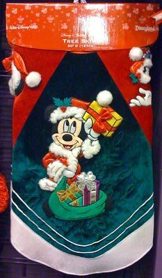 Disney Park Mickey Minnie Mouse Character Christmas Holiday Tree Skirt NEW *** Check out this great product.