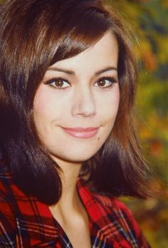 Claudine Auger (Claudine Oger) (April French actress, o. known from her role in the James Bond movie 'Thunderball' from