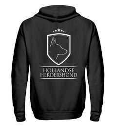 Sweatjacke HOLLANDSE HERDERSHOND Wappen T-Shirt Animals And Pets, Holland, Sweaters, T Shirt, Dutch, Tattoo, Dogs, Fashion, Dog T Shirts