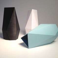 & designshop, Holland: designshop's lineup of vases at 3DEA Pop Up Store.