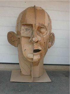 james lake Sculpture carton (structure)