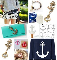Collage: Anchors