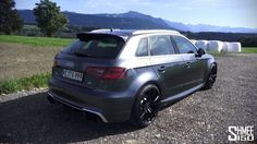 Introduction and test drive in the new ABT Sportsline RS3 based of course on the Audi RS3. Power is increased from 360 to 430PS, it wears a number of visual ...