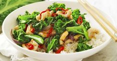 This bright and colourful kale, chilli and squid stir-fry is not only packed full of nutrients, but is super tasty too!