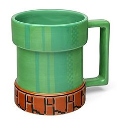 This Mario pipe mug that will warp your sense of taste.