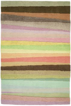"Doug and Gene Meyer rug   ""Scandinavian Stripes"""