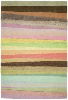 "Doug and Gene Meyer rug   ""Scandinavian Stripes"""