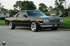 1982 El Camino | Photo of a 1982 Chevrolet El Camino (The toughest one)