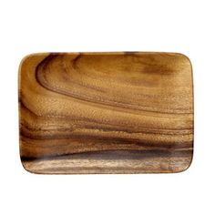Plateau rectangulaire en acacia naturel Bloomingville