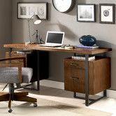 Found it at AllModern - Terra Vista Double Pedestal Writing Desk
