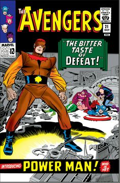 Cover of issue #21 (October '65)