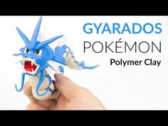 Gyarados Pokemon – Polymer Clay Tutorial - YouTube