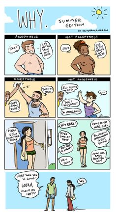 Double standards are why I need #feminism.
