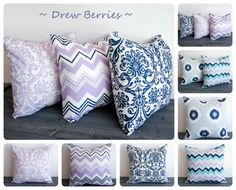 Throw pillow cover 20 x 20 One cushion cover by ThePillowPeople, $18.00