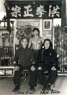 Chiu Chi Ling and his parents