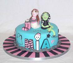 Monsters High birthday cake by EvaRose Cakes