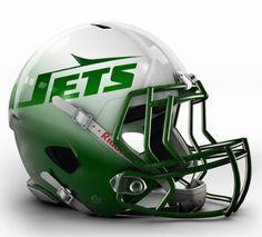 New York Jets Concept Helmet     Follow me on Pinterest (dubstepgamer5) for more pins like this.