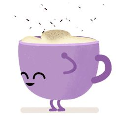 Have a nice Thursday! Coffee Gif, Coffee Cup Art, Coffee Poster, Coffee Love, Funny Emoticons, Funny Emoji, Cute Wallpaper Backgrounds, Cute Wallpapers, Emoji Images