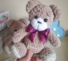 Get free amigurumi pattern for this cute little teddy bear. To create a plush bear you will need mm crochet hook and Himalaya Dolphin Baby yarn. Crochet Hood, Crochet Teddy, Crochet Bear, Cute Crochet, Crochet Doll Dress, Crochet For Beginners Blanket, Easy Crochet Projects, Crochet Toys Patterns, Stuffed Animal Patterns