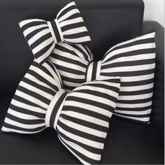 Cheap pillow black and white, Buy Quality bow pillow directly from China pillow decor Suppliers: toys kids bowknot bow pillows black and white striped Neck pillow decorative soft pillow for kids room cute ribbon cushion Bow Pillows, Kids Pillows, Accent Pillows, Velvet Pillows, Unique Home Decor, Diy Home Decor, Creative Decor, White Throws, Neck Pillow