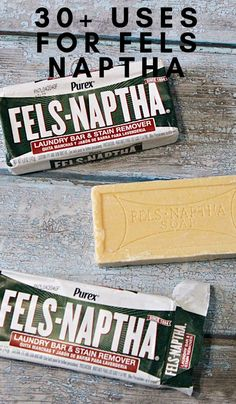 This little bar of soap will change your life. It's so inexpensive. Check out these uses forFels Naptha Soap that are life-changing... #felsnaptha #usesfor #frugalliving #frugalnavywife