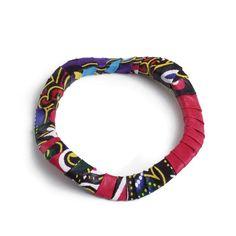 Buy Kitenge Swirl Bracelet African Handmade at Annabell's Galleria for only $ 19.90