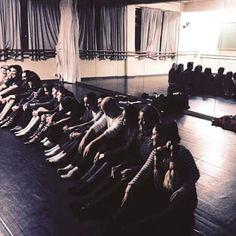 Estudando dança!