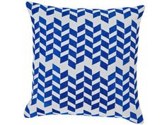 Zinc Cushion Blue – Isabella Boutique Australia