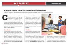 THE Journal : June 2014, 8 Great Tools for Classroom Presentations