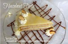 This Hazelnut Torte recipe was my Mom's favorite. Special, yet very easy to make. We all loved it, especially with marzipan frosting. Then special became extra special. recipes recipes chicken recipes chicken recipes Source by Cake Frosting Recipe, Frosting Recipes, Cake Recipes, Dessert Recipes, Hazelnut Torte Recipe, Hazelnut Cake, Desserts To Make, Food To Make, Torte Au Chocolat